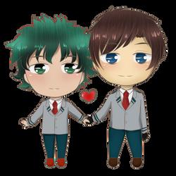 Ych couple ~ MotoIzu by Yukaishironeko