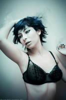 Blue Desintegration by MaryMagika