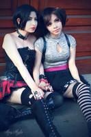 Nana and Hachi Cosplay by MaryMagika