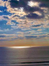 Breton sky by Allatwan