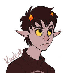 AND THEN KARKAT by DuckPrince