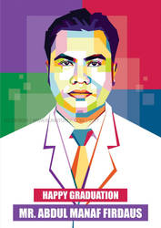 Commision Work Pop Art Mr. Abdul Manaf Firdaus by duniaonme