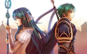 Eirika and Ephraim by TOFUProductionz