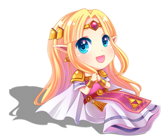 Princess Zelda by TOFUProductionz