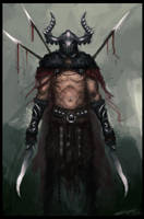 Barbarian by Hevion