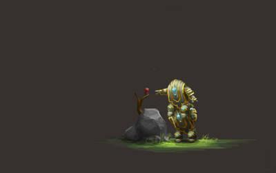 Guild Wars 2 Fanart - Rose by Jeffufu