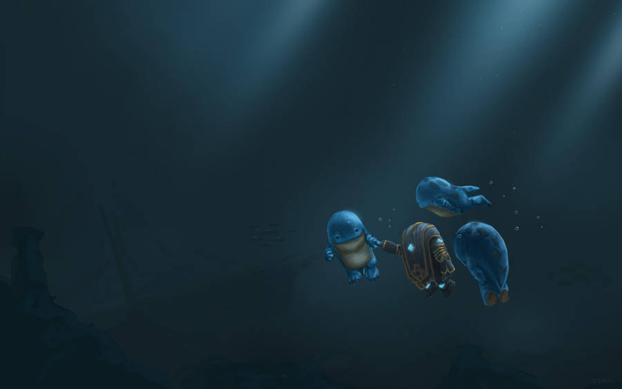 Guild Wars 2 Fanart - Quaggan Adventures by Jeffufu