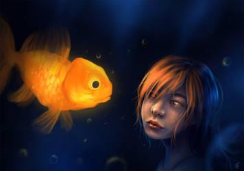 Goldfish by Jeffufu
