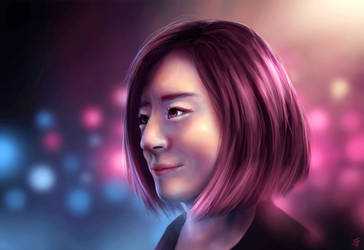 Pink Lights by Jeffufu