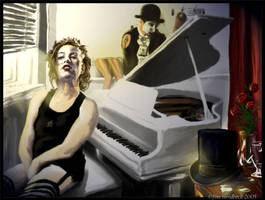 The Dresden Dolls by ashgolgotha