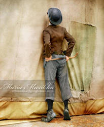 Charlie Chaplin ~~ 1928 ~~ colourised by Maria-Musikka