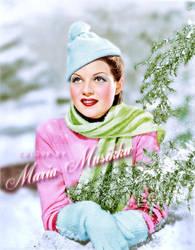 Rita Hayworth ~~ 1935 ~~ colourised by Maria-Musikka