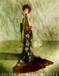 Alla Nazimova ~~1921~~ colourised by Maria-Musikka