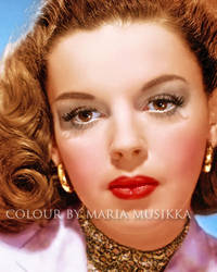 Judy Garland ~~1940s~~ colourised by Maria-Musikka