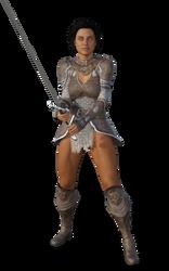 Female Human Amazon Warrior by Loki-Eris