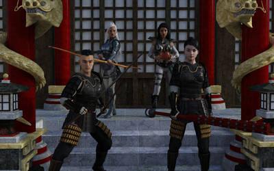 Temple Defense by Loki-Eris