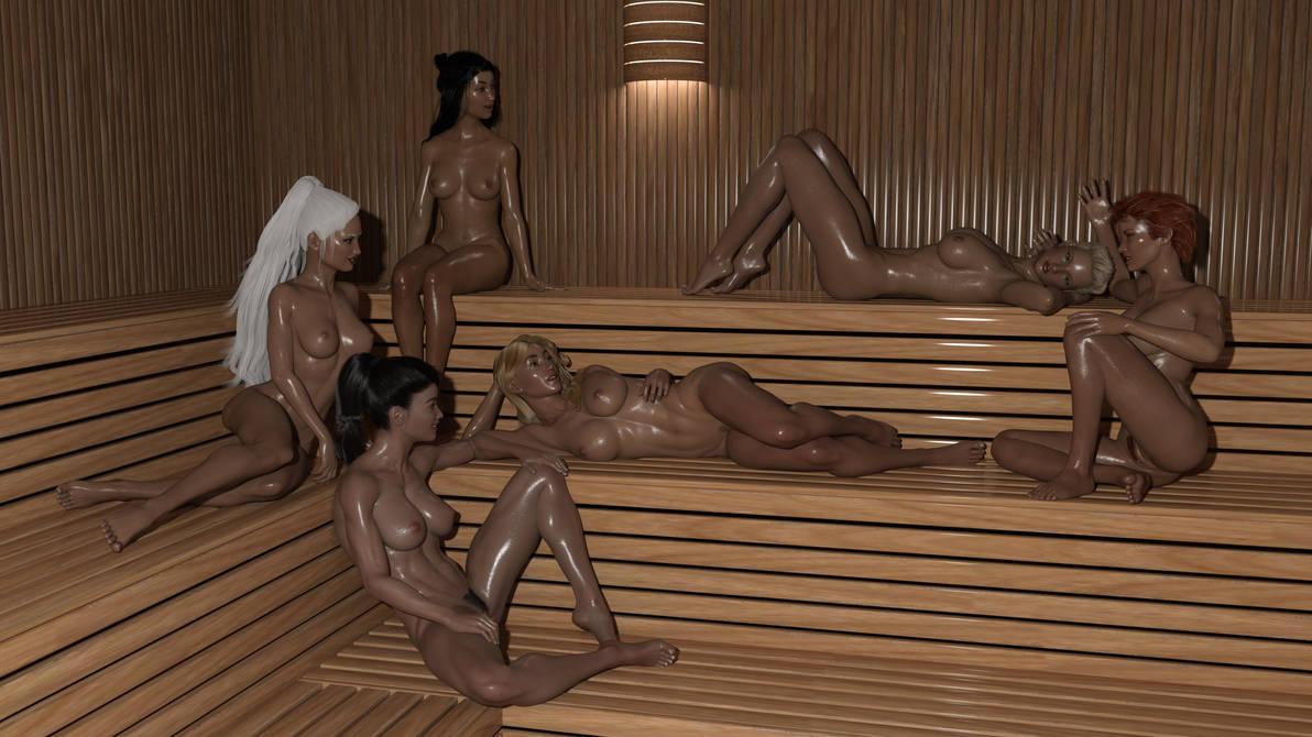 Sexy Sauna by Loki-Eris
