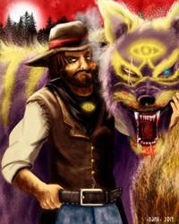 Mystic Wolf by Piteurock