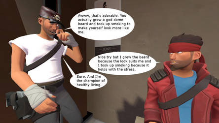 TF2 Scout OCs by McDoomington