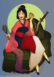 #07 Mulan by orangesteps