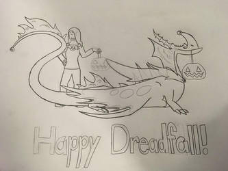 Happy Dreadfall! by Alexadragonfire