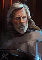 Luke Skywalker Portrait by Psketchs