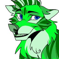 Grassy Wolf by kariing200