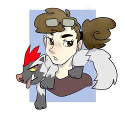 Me as Pokemon Trainer by kariing200