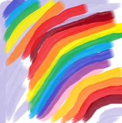 Rainbow by justblue1