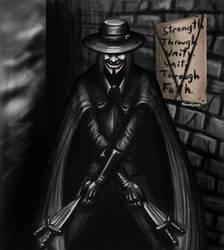 V for Vendetta again by Torvald2000