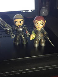 Mini Vinyl Figures: Ayri and Danse by Haifisch17