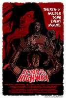 Blood on the Highway by cyclonaut