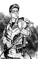 Egon Spengler by cyclonaut