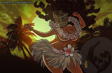 Tiki Girl by cyclonaut