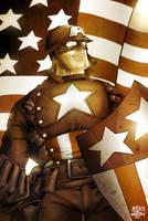 Kidnotorious' Captain America by billythebrain