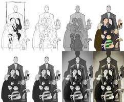 Addams Family Workings by billythebrain