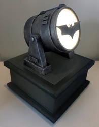 Bat-Signal by billythebrain