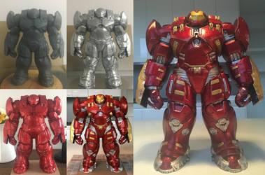 Titan Series Hulkbuster Repaint by billythebrain