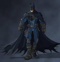 mistermoster's Batman Colour by billythebrain