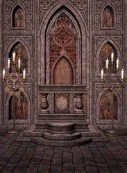 High Altar Free Background by zememz