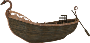 3D Barge by zememz