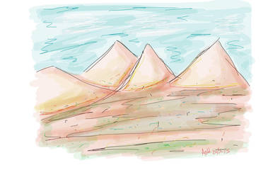 Sketch - Land Egypt by usagisailormoon20