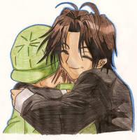Hisoka And Tsuzuki by usagisailormoon20