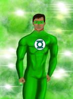 Green Lantern by mrdjh