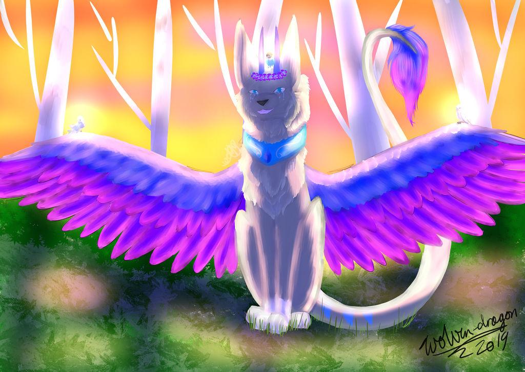 bird queen by wolven-dragon16