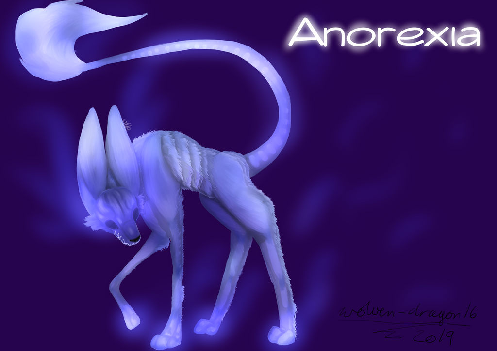 Anorexia by wolven-dragon16