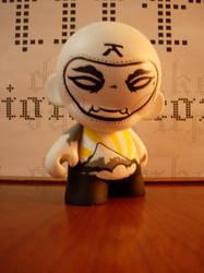 custom ninja munny_front by at0micAnt