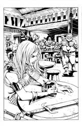 Red Sonja Page by pozzey