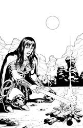 Xena Annual page by pozzey