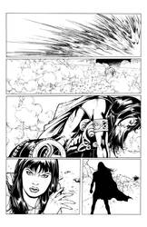 Xena Annual page 3 by pozzey